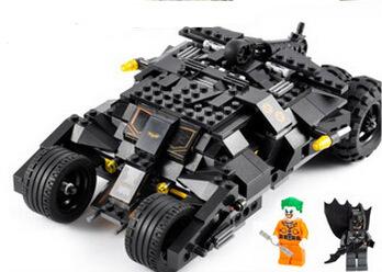Batman el batimóvil vaso batwing joker marvel super heroes bloques de construcción conjunto de juguete compatible decool 7105