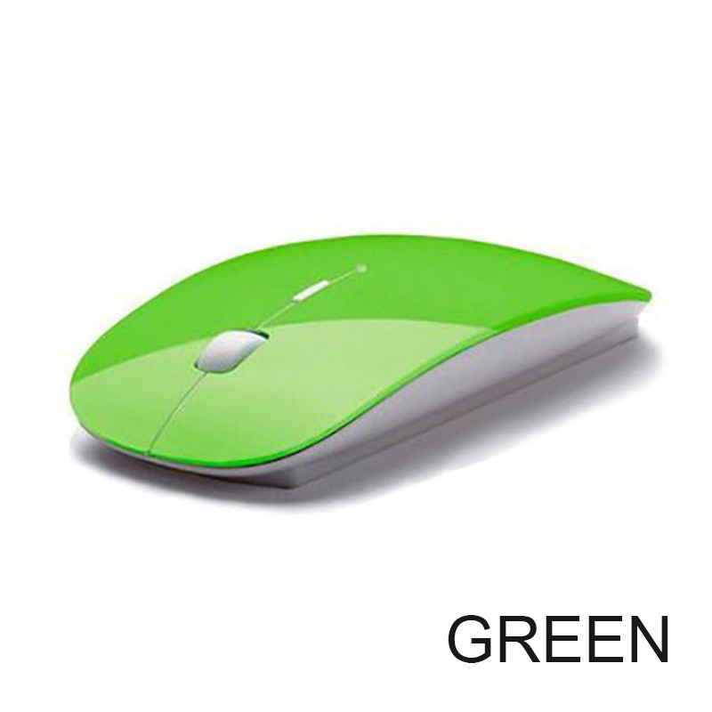 2019 New 1600 DPI USB Optical Wireless Computer Mouse 2 4G Receiver Super Slim Mouse For PC Laptop in Mice from Computer Office