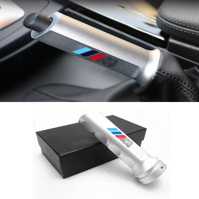 1PCS Aluminum Alloy Hand Brake Cover Handle Trim For BMW 3 Series E90 F30 F35 2005-2017