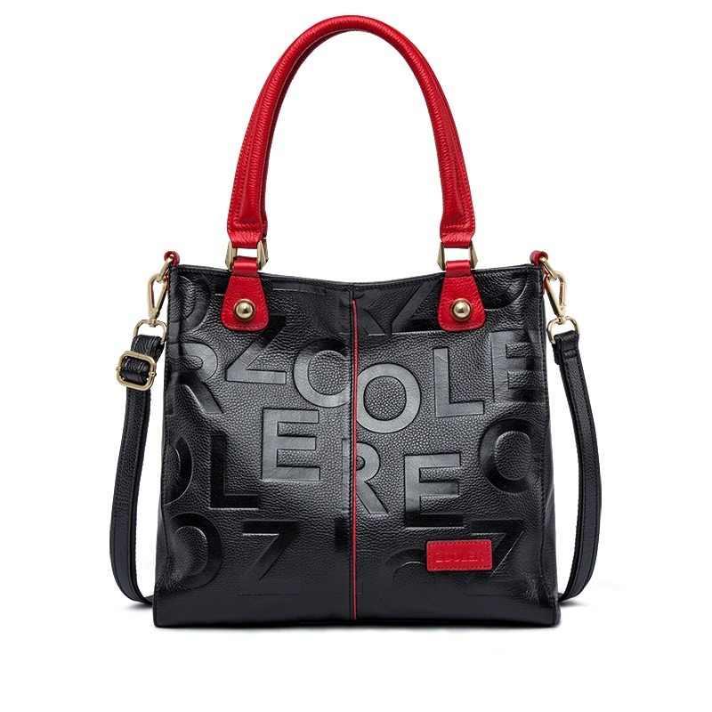 70848c15a3 Hot ZOOLER 2019 NEW luxury handbags woman bags designer genuine leather bag  women Cow Leather Handbag