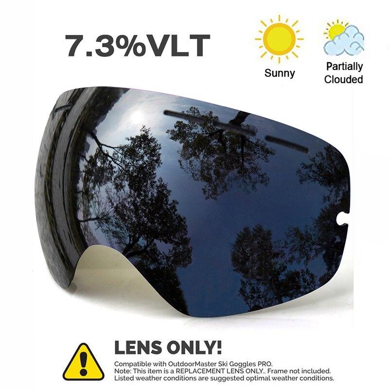 eb51e71898 JULI OTG Ski Goggles – Snowboard Skate Goggles with Anti-fog Double  Multicolor Detachable Lens for Men