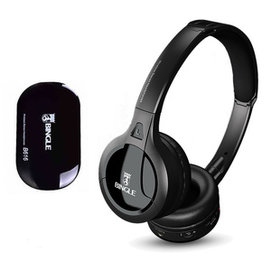 Image 1 - Professional Wireless TV Headset Stereo Headphones with transmitter Home FM Radio TV Over ear Headset For Computer Phone MP3