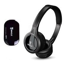 Professionelle Drahtlose TV Headset Stereo Kopfhörer mit sender Hause FM Radio TV Über ohr Headset Für Computer Telefon MP3