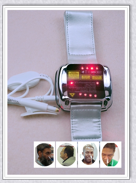 Treat anemia/high blood pressure /rhinitis cold laser watch home use machine 650nm laser therapy watch therapeutic laser for high blood pressure blood clean wrist watch healthcare priceless