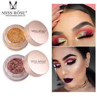 Miss Rose 1Pc Hot Beauty Eyes Makeup Glitter Powder Mermaid Eyeshadow Pigment Shimmer Single Color Eye Shadow Palette TSLM2