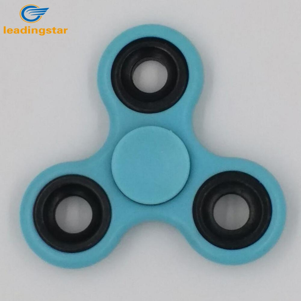 LeadingStar Luminous Fidget Spinner Trois Coin Doigt Spinner Stress Anxiety Reducer Decompression Toys for All Ages zk15