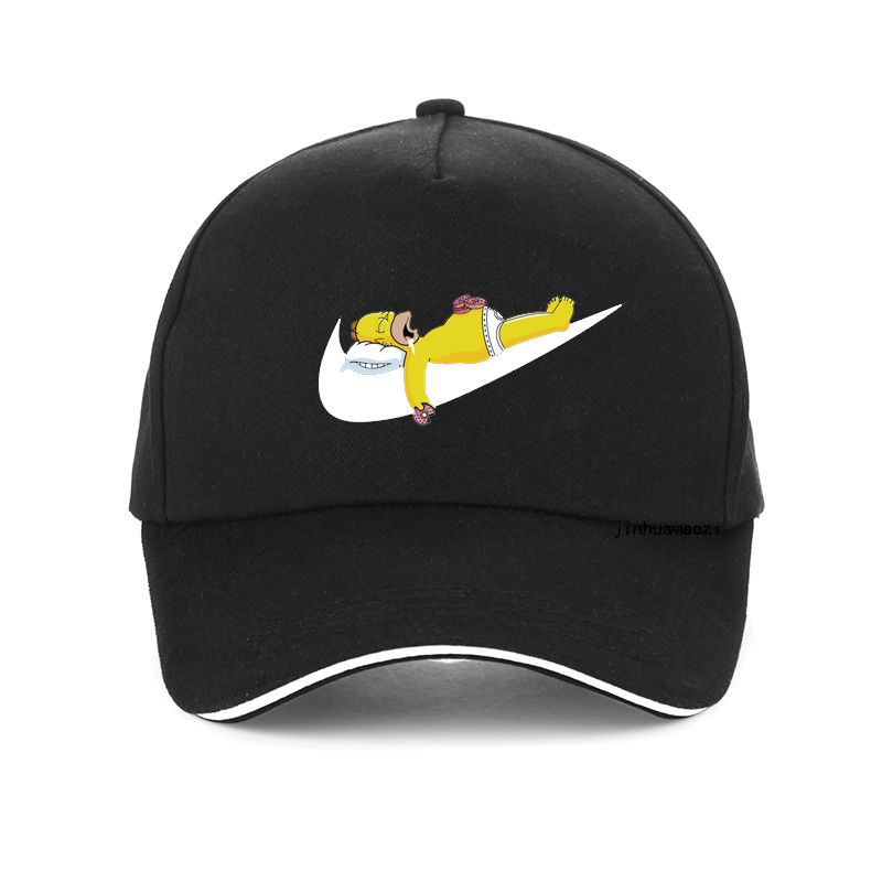 Cap Snapback-Hat Baseball-Caps Simpson Hip-Hop Funny Print-Design Adjustable Bone Women