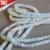 (Min Order1) 5*8mm Sri Lanka Natural Moonstone Round Opal Beads Jasper Jewelry Making Design Loose Beads Stones 15inch Wholesale