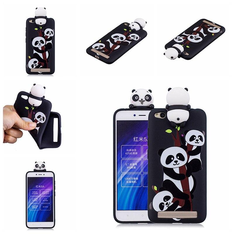 note 5 phone cases KeFo For Xiaomi Redmi 5A Note 5A Phone Cases 3D Squishy Animals Case Silicone Cover for Xiaomi Mi 5X MiA1 Mi5X (11)