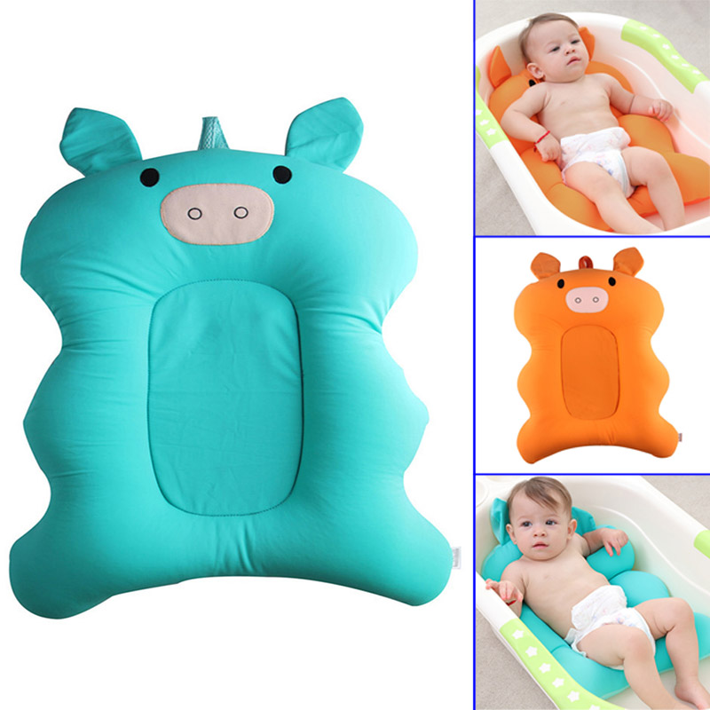Hot Selling Baby Bath Tub Pillow Pad Air Cushion Mat Floating Soft ...