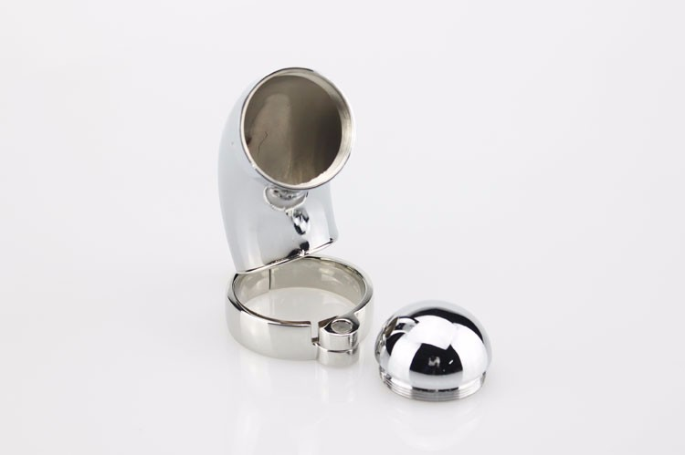 Hot Sale Metal Cock Ring Male Chastity Belt Ball Stretcher Penis Rings Stainless Steel Male Chastity Devices Sex Products 10