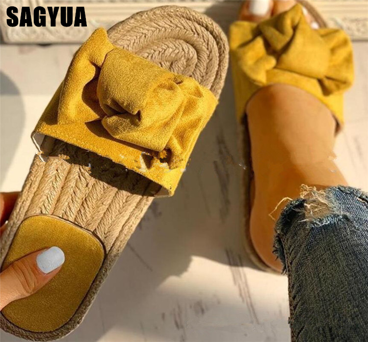 Women slippers Weaving flax shoes for woman Summer Flats sandals ladies Suede Open toe casual Beach flip flops Girls Slides A628Women slippers Weaving flax shoes for woman Summer Flats sandals ladies Suede Open toe casual Beach flip flops Girls Slides A628