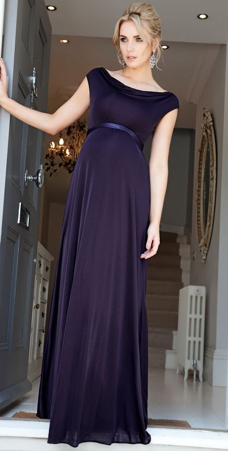 583ca64a4d6 2017 Navy Blue Maternity Evening Dresses Elegant Cheap Evening Dresses for  Pregnant Women Robe Sirene Simple Long Party Dresses-in Evening Dresses  from ...