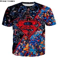 PLstar Cosmos hot sale men women DC Superman Batman Graffiti