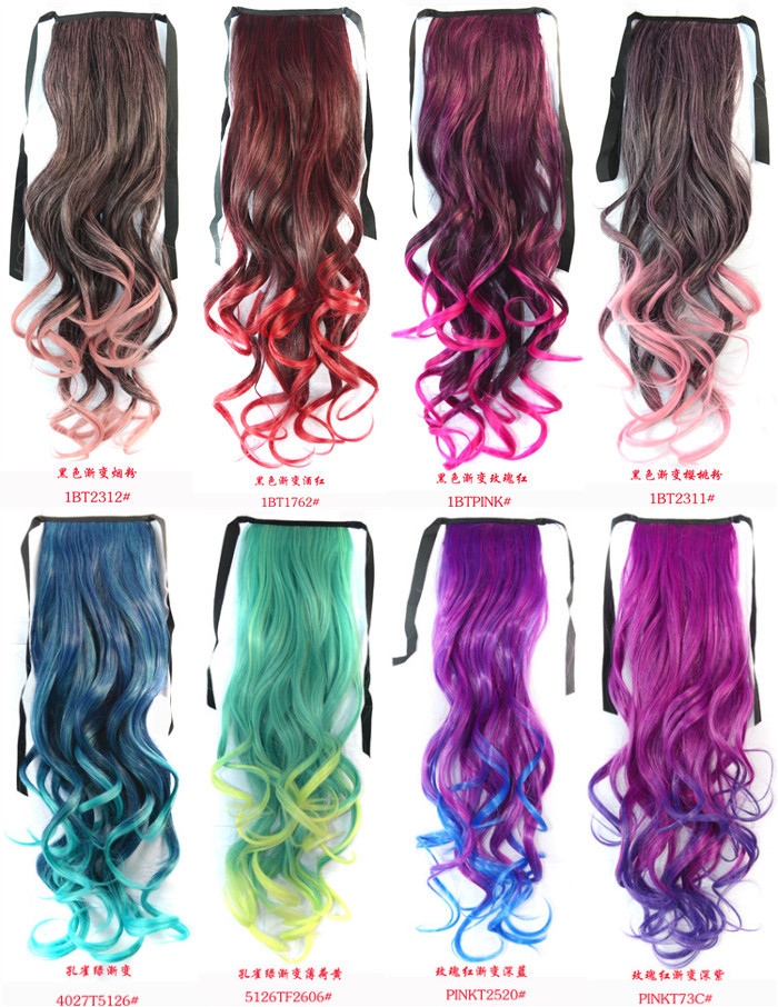 30 Different Colors In Stocks 120gpc 50cm Length 20 Women Clip In