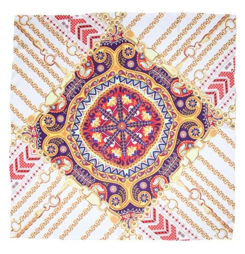 ELEGANT HANDMADE BRAND 100%Twill Silk Scarf TWIC-209758