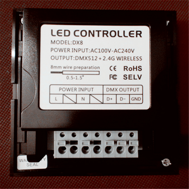 info for f5364 19852 US $42.8 |LTECH DX8 rgbw touch panel led controller 4 Zones control RF  2.4G+DMX512 master RGBW wall mounted,for rgbw strip led panel led-in RGB ...
