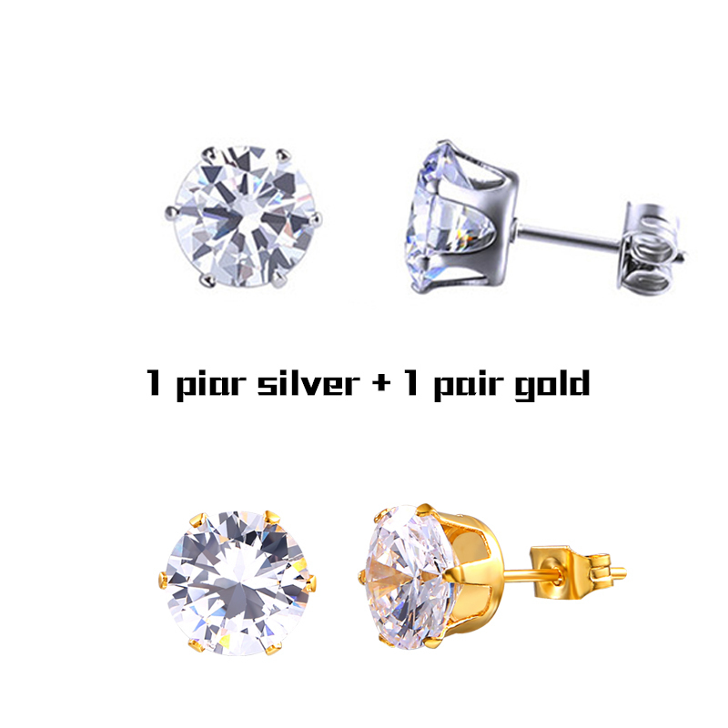 Pair Silver and Gold