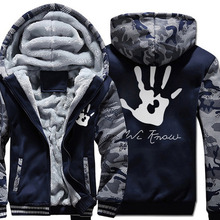 2018 New Men Hoodies Winter Thick Warm Fleece Zipper Coat Sportwear Male Streetwear Sweatshirts 4XL 5XL