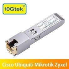 10Gtek Compatible CiscoSwitch 10 Gigabit RJ45 Copper SFP+ Transceiver Module, 10GBase-T