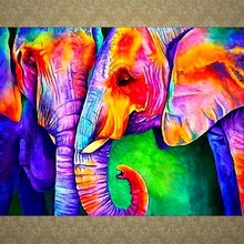 5D diy diamond painting full drill animal elephant embroidery cross stitch kit mosaic decoration home decor 5d diy diamond painting full drill animal two phoenix diamond embroidery cross stitch kit mosaic decoration home decor