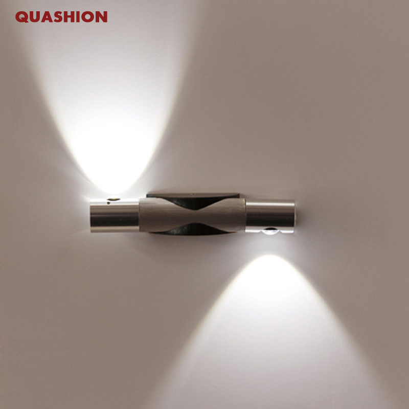 Popular mondern direction adjustable wall lamp up and down lighting 85 265V 2W font b led