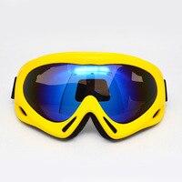 HOT Off Road Snowboard Snowmobile Ski Goggles Sunglasses Sports Glasses Colors Lens