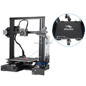 Image 2 - CREALITY 3D Printer Ender 3/Ender 3X Tempered Glass Optional,V slot Resume Power Failure Printing DIY KIT Hotbed
