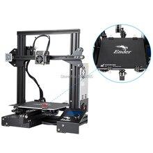 CREALITY 3d принтер Ender 3/Ender 3X обновленный V slot Resume power Failed Printing DIY KIT Горячая кровать