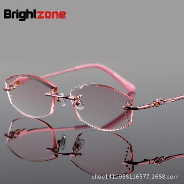c803663710 Señora Producto Terminado Marco de Vanguardia gafas de Presbicia Gafas de  Montura de gafas de Moda