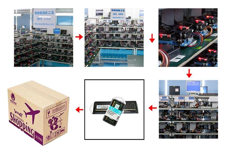 ZIFEI ddr2 2GB 800MHz 667MHz pc2-6400 RAM memory pc2-5300 1.8V for Desktop long-dimm