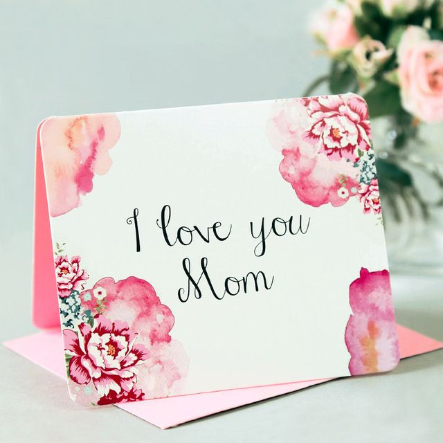 10pcslot Invitation Cards For Mother Day Mother Birthday Gift