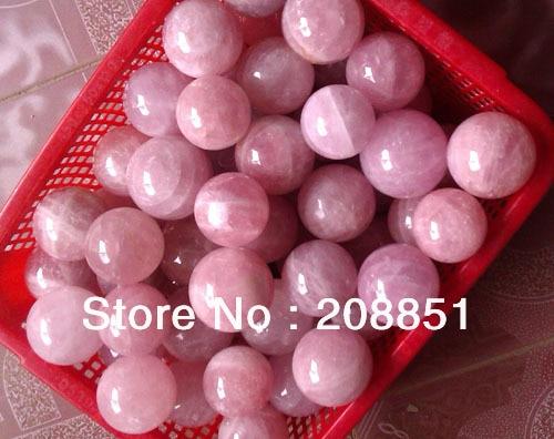 1KG 2 2LB NATURAL ROSE QUARTZ CRYSTAL SPHERE BALL HEALING 50 70mm Free Shipping