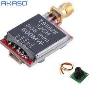 TS5828 5 8Ghz 600mW 32 Channels Wireless AV 5km Range Transmitter HD 700TVL CCD MiniPCB Board
