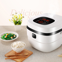 Intelligent rice cooker 5L authentic multi functional square modern rice cooker household sales electrical gifts soup container