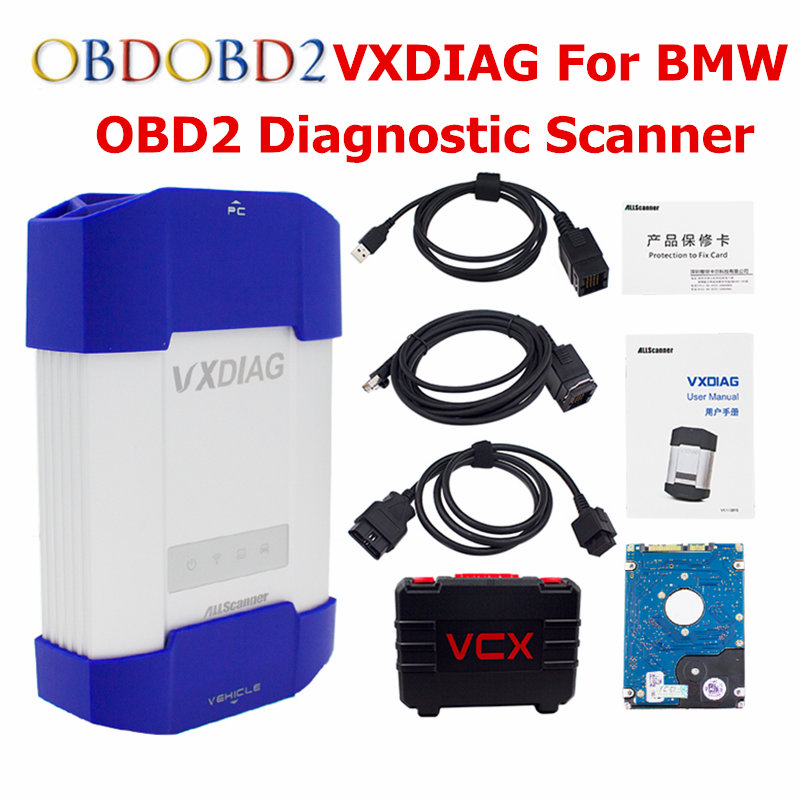 Car Doctor For BMW VXDIAG MULTI Diagnostic Tool For BMW Icom A2 A3 Original Software VXDIAG VCX NANO Auto Scanner For BMW