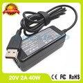 20 В 2A ac адаптер 36200566 ADL40WCG ADL40WCH 36200567 36200572 ADL40WDA ADL40WDB 36200573 ноутбук зарядное устройство для Lenovo Yoga 3 14