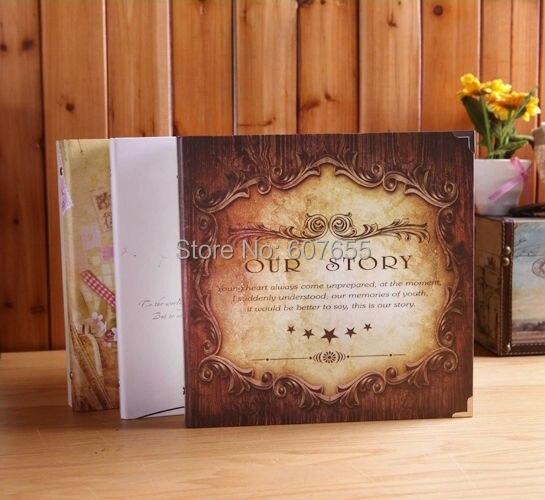 12 Inch Diy Wedding Photo Album Scrapbooking Children Family Baby