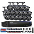SANNCE HD 16CH 1080N DVR 720P Outdoor IR Home CCTV Surveillance Camera System