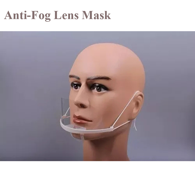 Microblading mask eyebrow tattoo plastic crystal anti-fog Lens Mask Mascara Higienica Clearmask P/ Estetica,tebori,microblading