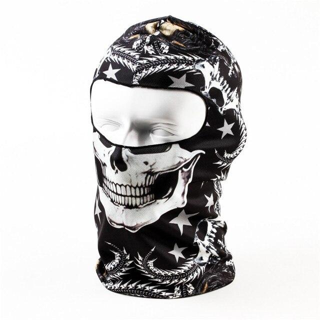 Thin 3D Outdoor Cycling Ski Balaclava Neck Hood Full Face Mask Hat Beanie Animal Balaclava Headgear Face Mask Assorted Style