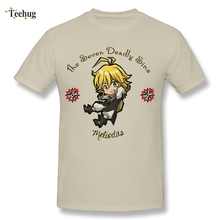 Summer Fashion Seven Deadly Sins Chibi Meliodas Graphic T Shirt Cute Japanese Anime Nanatsu No Taizai Stylish T-Shirts Big Size