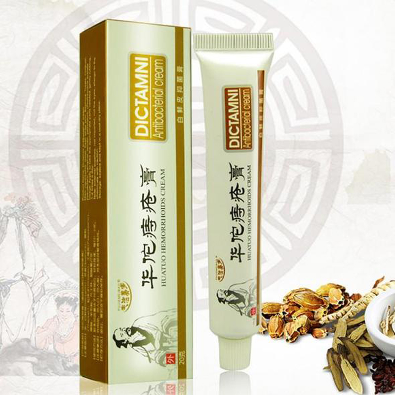 20g Hua Tuo Herbal Hemorrhoids Cream Internal Hemorrhoids Piles External Anal Fissure Drop Shipping
