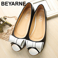 2016 new fahion shoes woman flat open toe women flats Cute Bow soft soles Casual shoe for girls 34-43