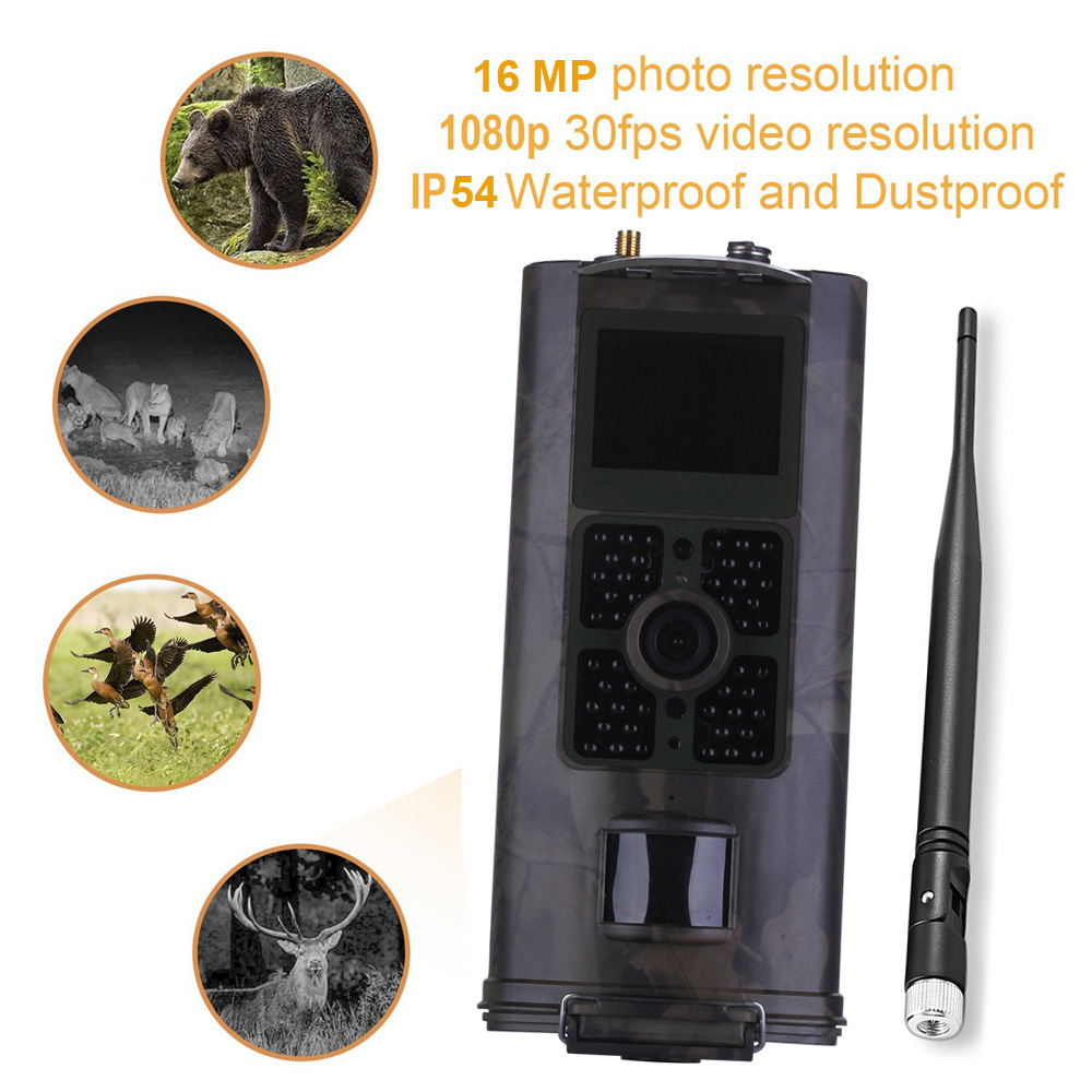 Hunting Camera <font><b>3G</b></font> <font><b>HC700G</b></font> GPRS MMS SMTP SMS 16MP 1080P 120 Degrees PIR 940NM Infrared Wildlife Trail Cameras image