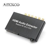 AIXXCO dekoder audio splitter HDMI 4 K HDMI 5.1 Dolby dekoder audio, hdmi repeater