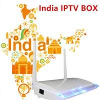 2019 пожизненная Бесплатная Индия IPTV box, Android tv BOX подписка Live tv 1000 +, арабский Франция Испания Италия Великобритания немецкий Smart tv box