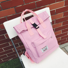 цена на Fresh Style Women Backpacks Teenager Bookbags Canvas Backpack School Bag For Girls Rucksack Female Travel Backpack