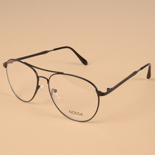 Classic Vintage Metal Optical Prescription Glasses Frame Women And Men Big Frame Eyeglasses Male Female Spectacle Casual Eyewear