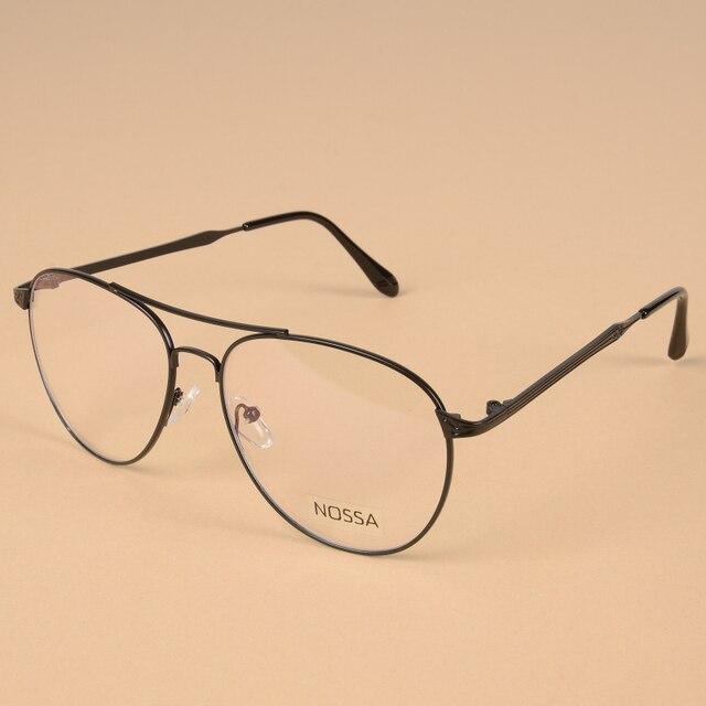 Classic Vintage Metal Optical Prescription Glasses Frame Women And ...